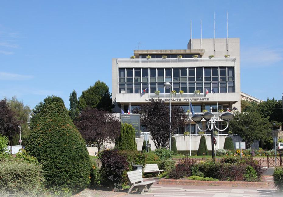 façade de la mairie de Eaubonne