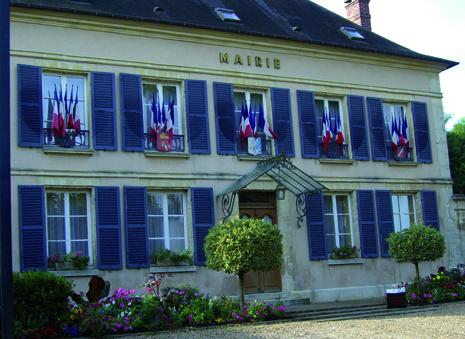 façade de la mairie de Saint-clair-sur-epte