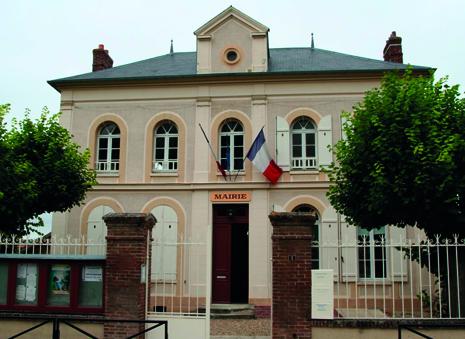 façade de la mairie de Amenucourt