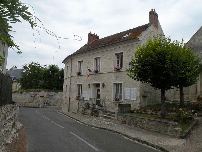 façade de la mairie de Labbeville