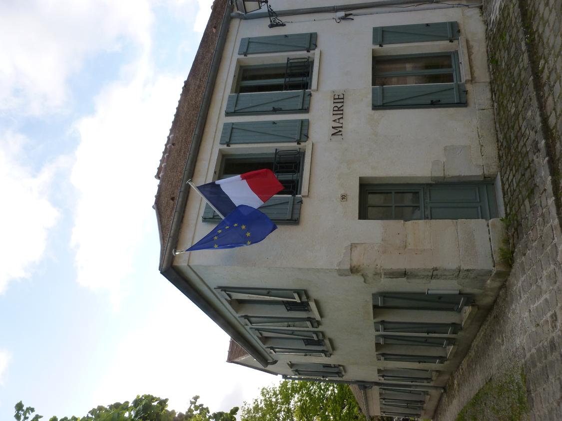 façade de la mairie de Chatenay-en-france