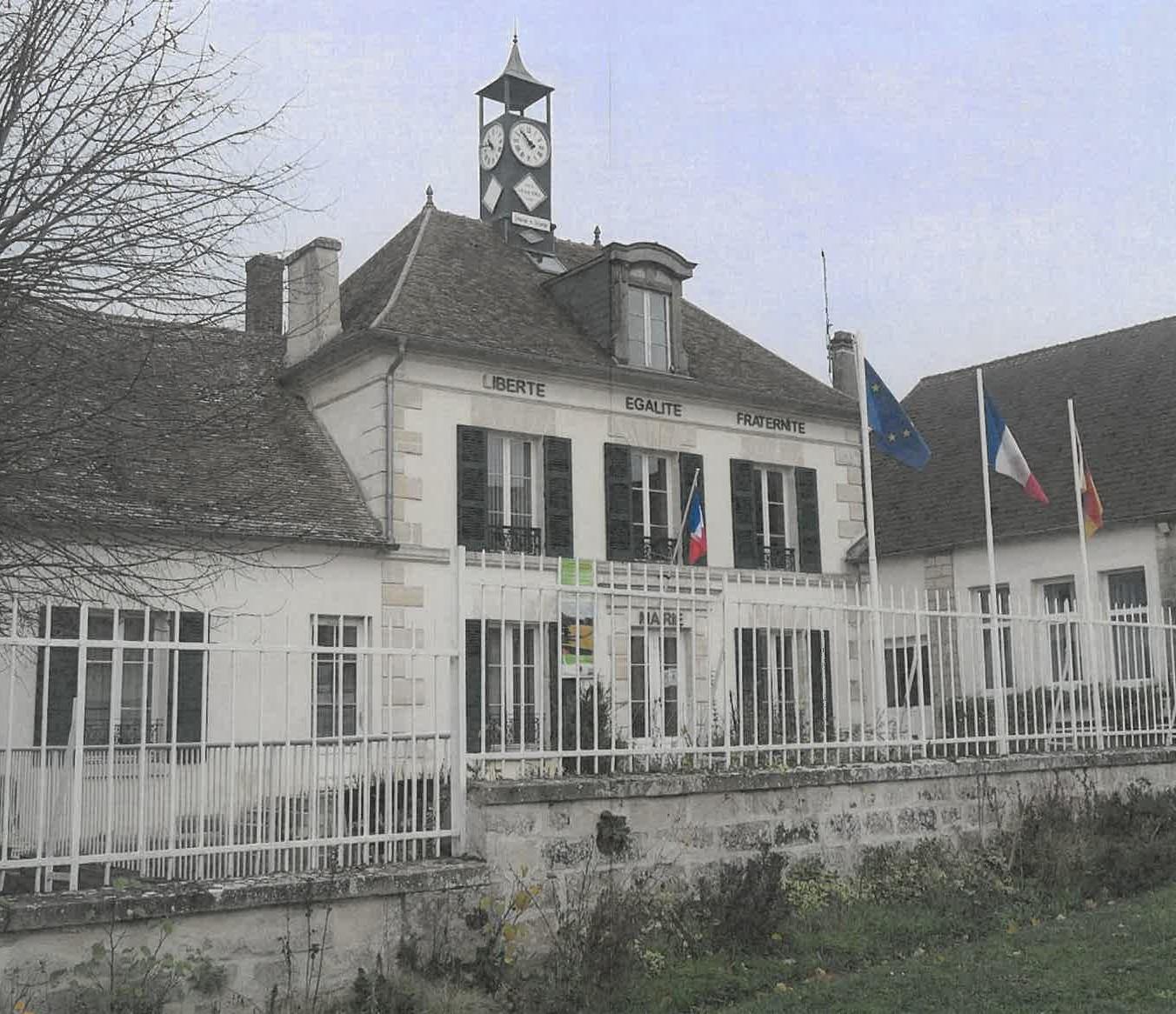 façade de la mairie de Nucourt