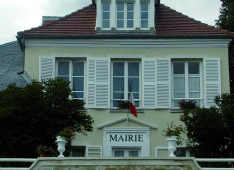 façade de la mairie de Mareil-en-france