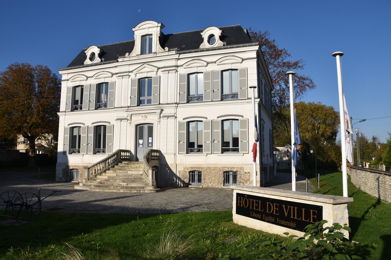façade de la mairie de Le thillay