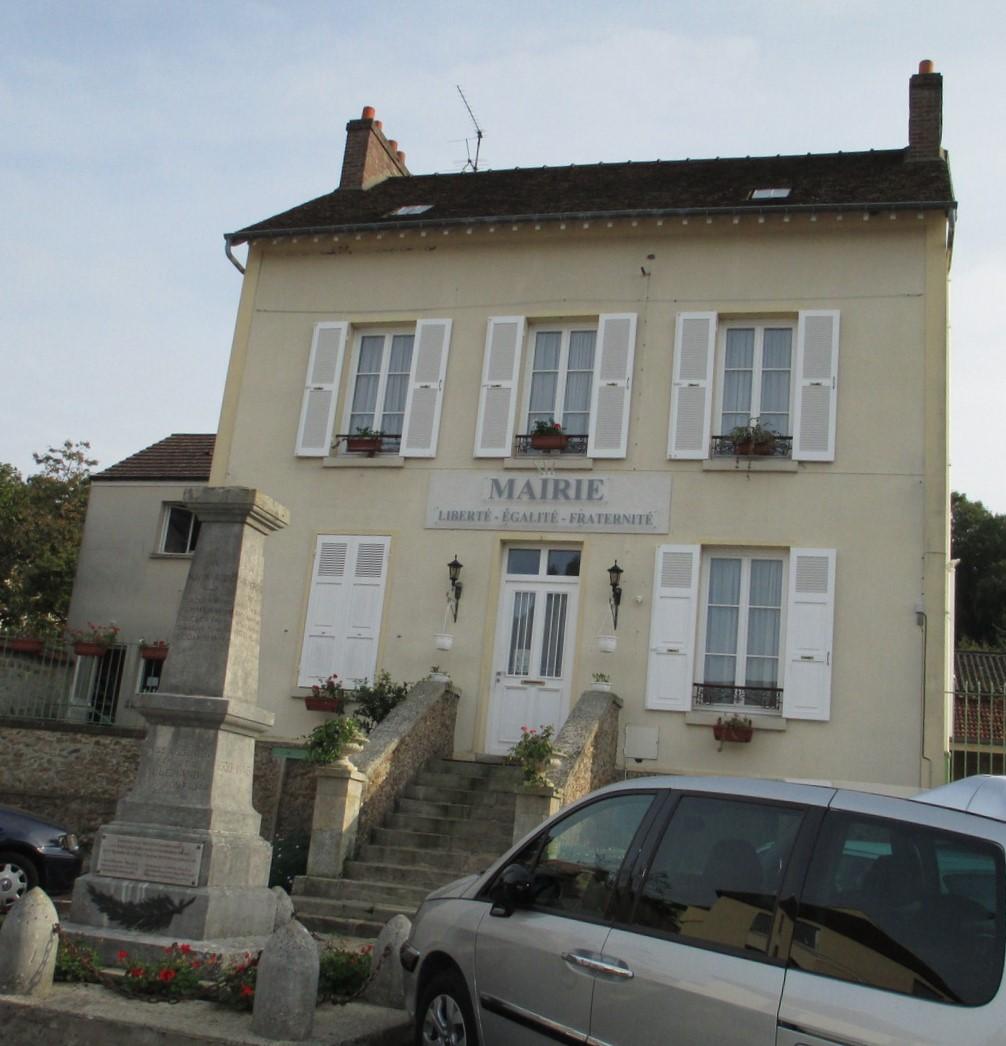 façade de la mairie de Nerville-la-foret