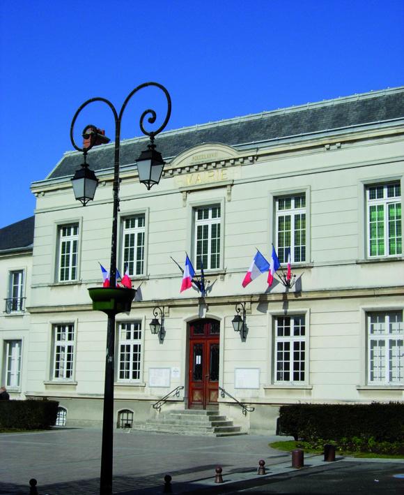 façade de la mairie de Bessancourt