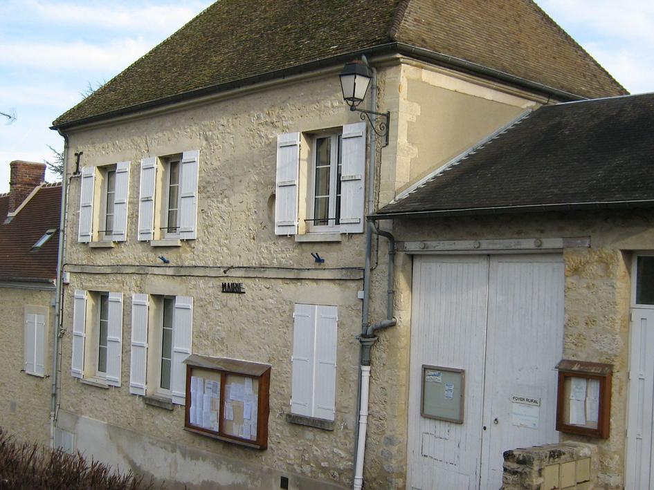 façade de la mairie de Buhy