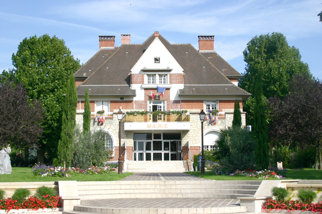 façade de la mairie