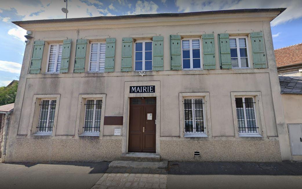 façade de la mairie de Villiers-le-sec
