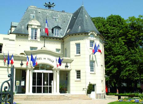 façade de la mairie de Ermont