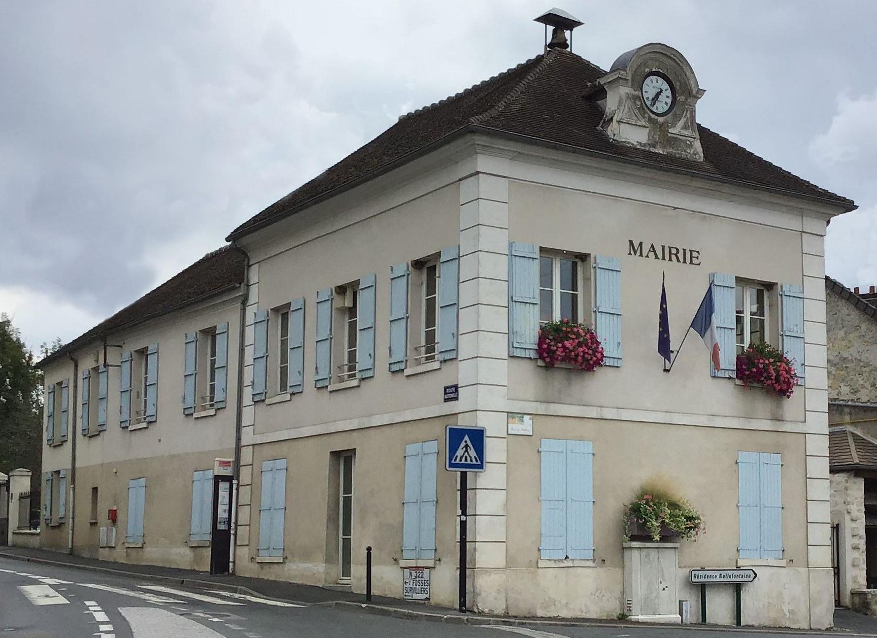 façade de la mairie de Bellefontaine