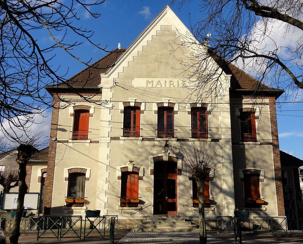 façade de la mairie de Fontenay-en-parisis