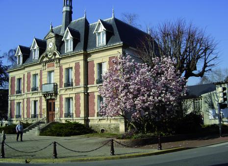 façade de la mairie de Pierrelaye