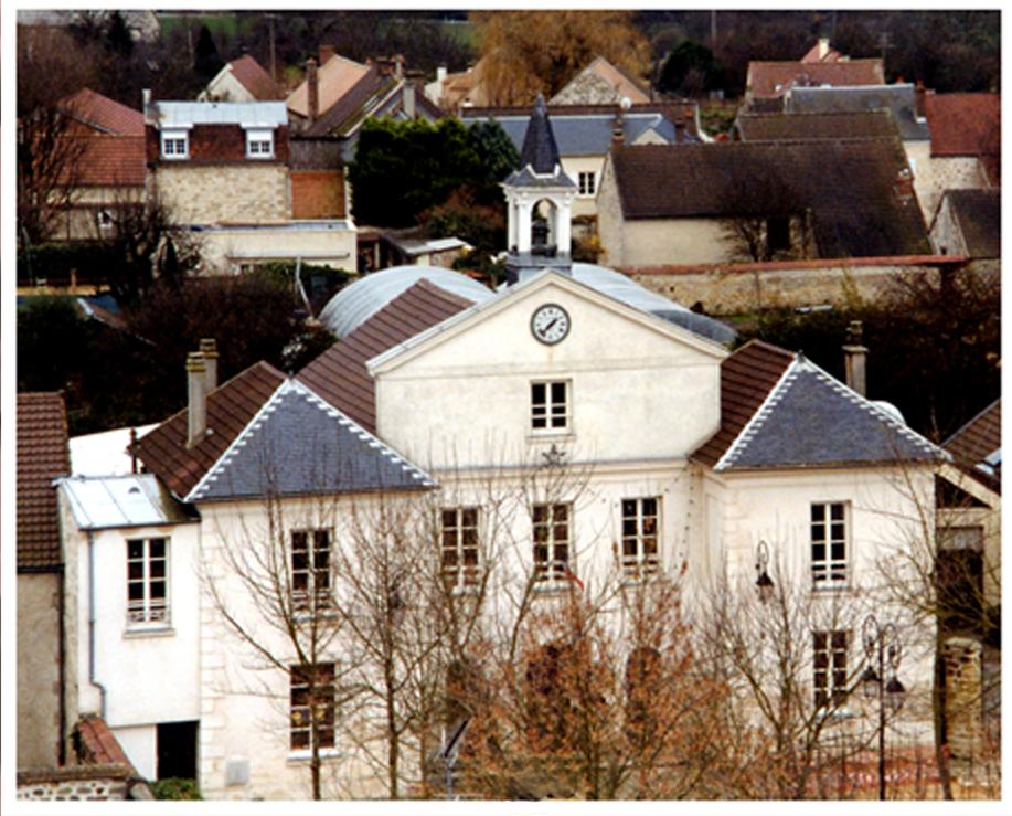façade de la mairie de Ennery