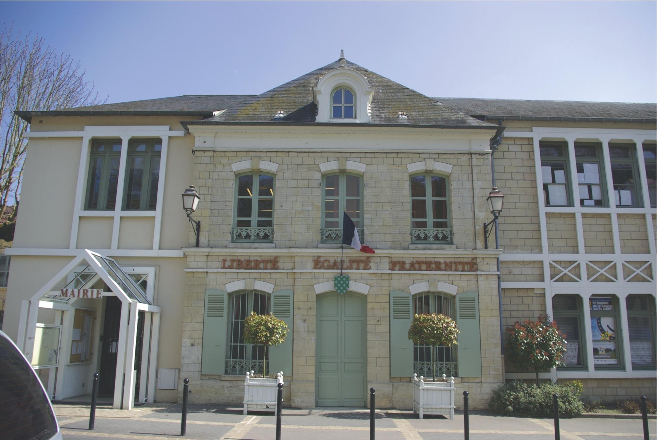 façade de la mairie de Presles