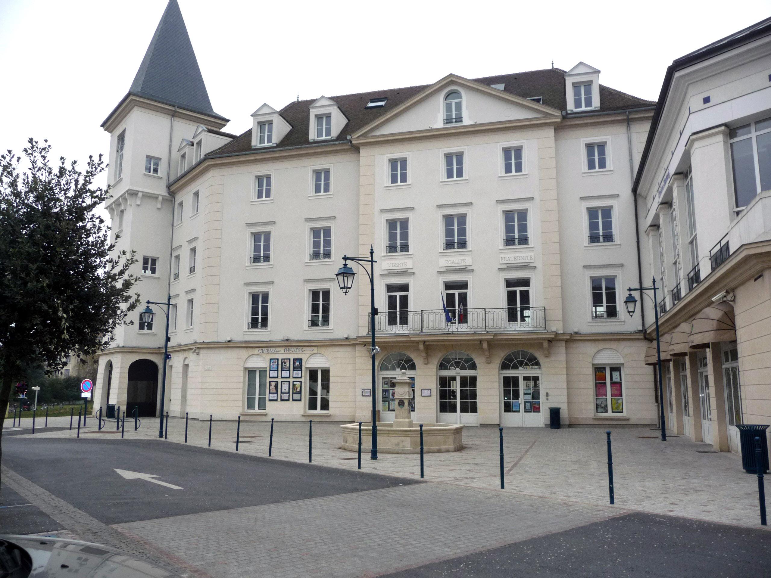 façade de la mairie de Vaureal