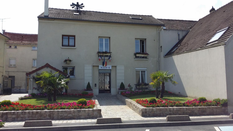 façade de la mairie de Bonneuil-en-france