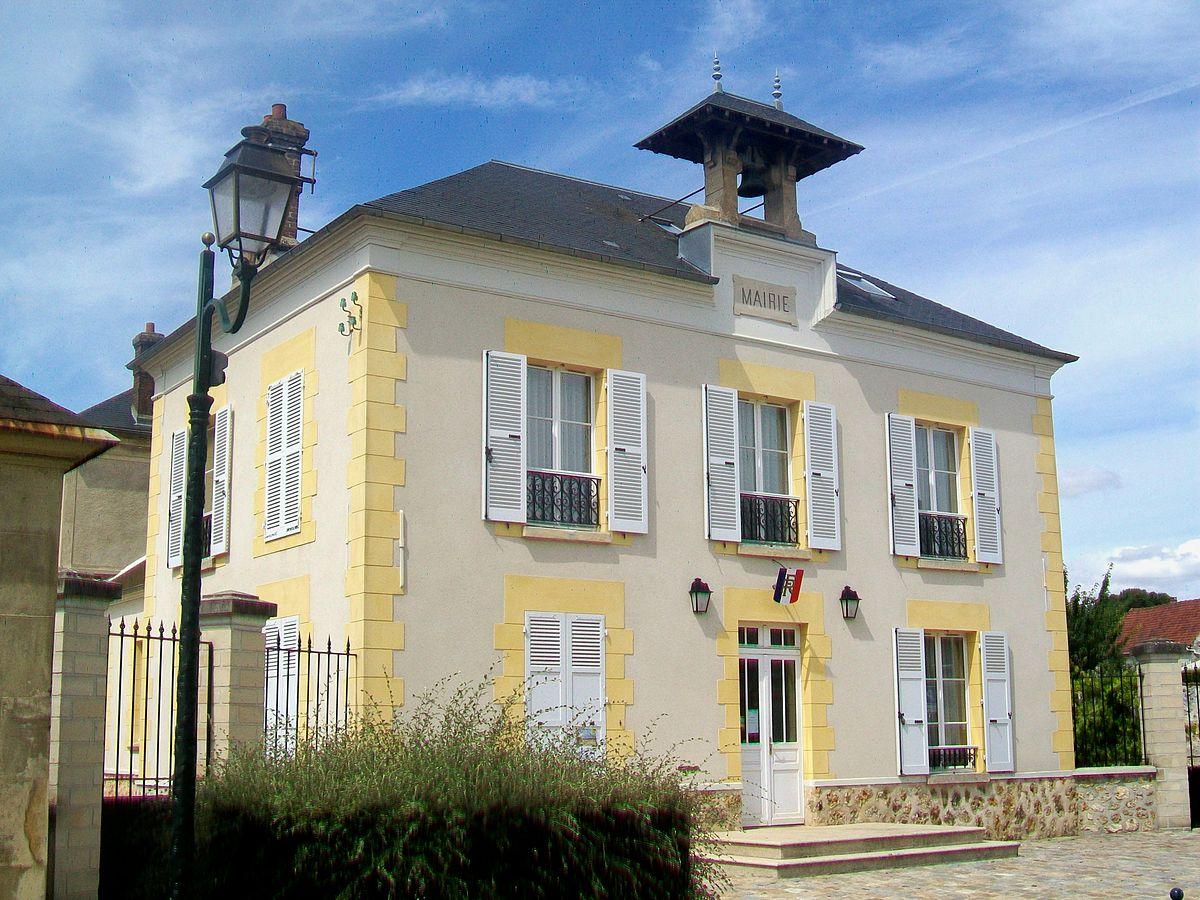 façade de la mairie de Avernes