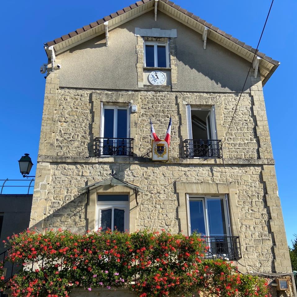 façade de la mairie de Butry sur oise