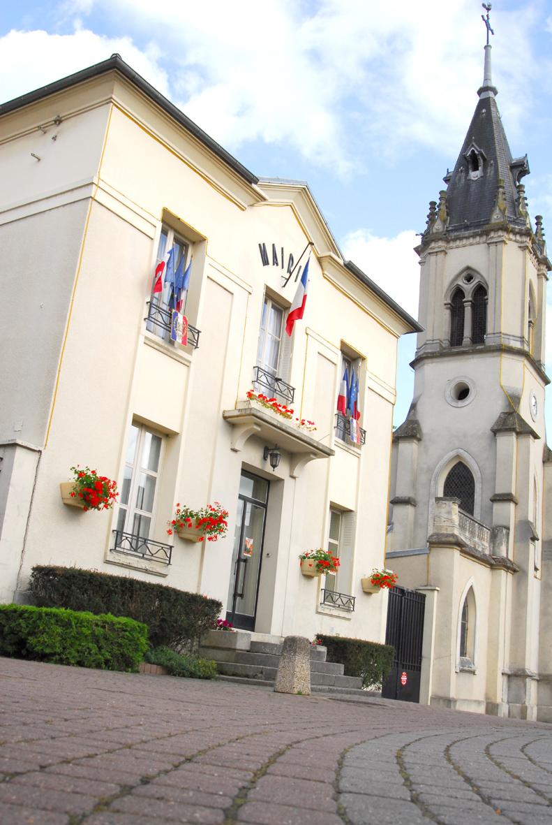 façade de la mairie de Montlignon