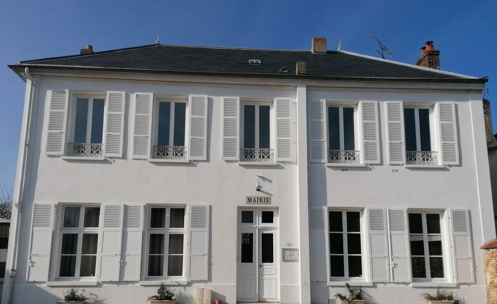 façade de la mairie de Breancon