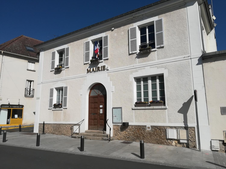 façade de la mairie de Moisselles