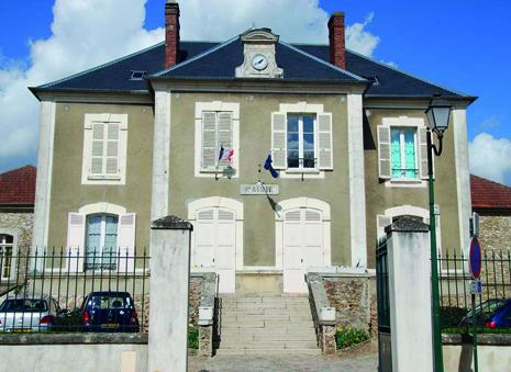 façade de la mairie de Cormeilles-en-vexin