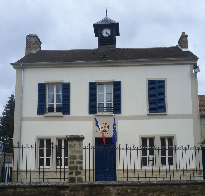 façade de la mairie de Moussy
