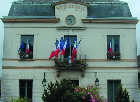 façade de la mairie de Auvers-sur-oise