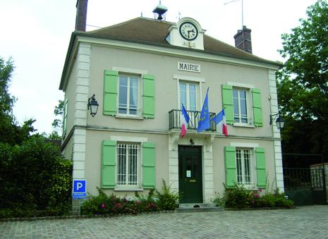 façade de la mairie de Le plessis-luzarches