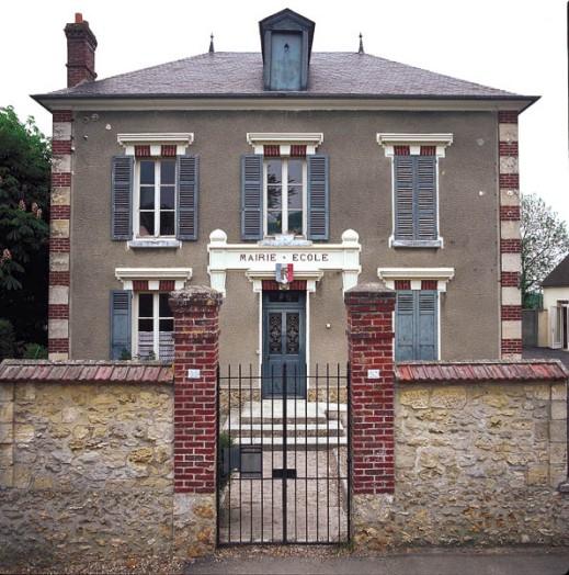 façade de la mairie de Berville