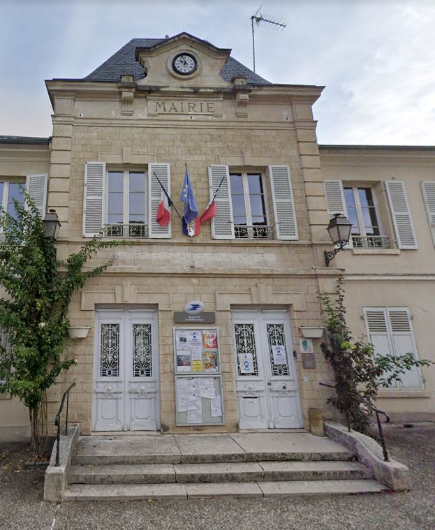 façade de la mairie de Valmondois