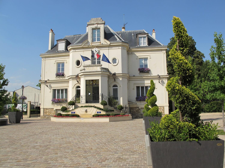 façade de la mairie de Groslay