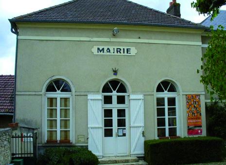 façade de la mairie de Omerville