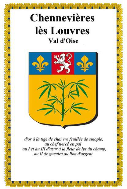 Logo de la mairie de Chennevieres-les-louvres