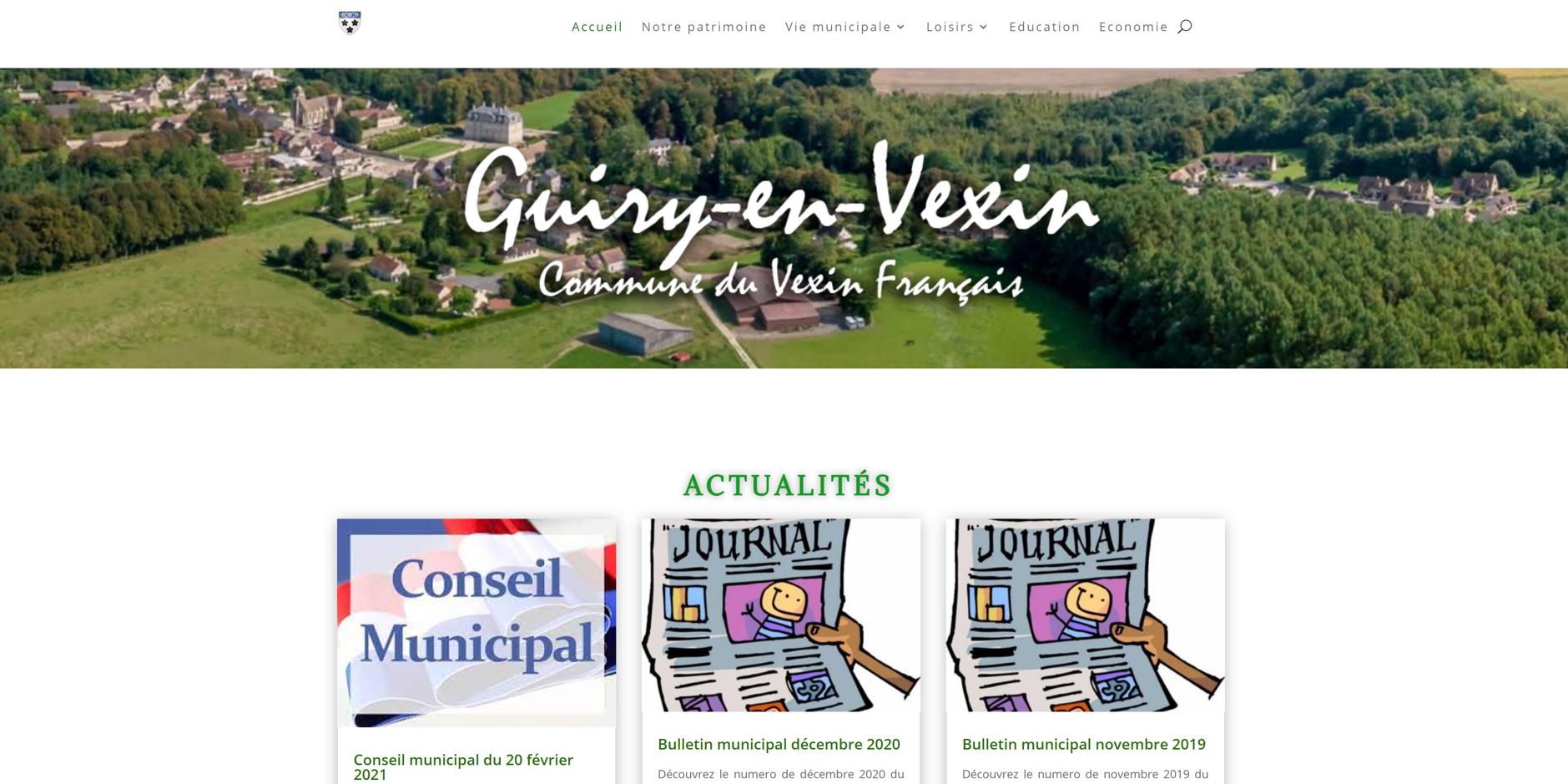 site de Guiry-en-vexin