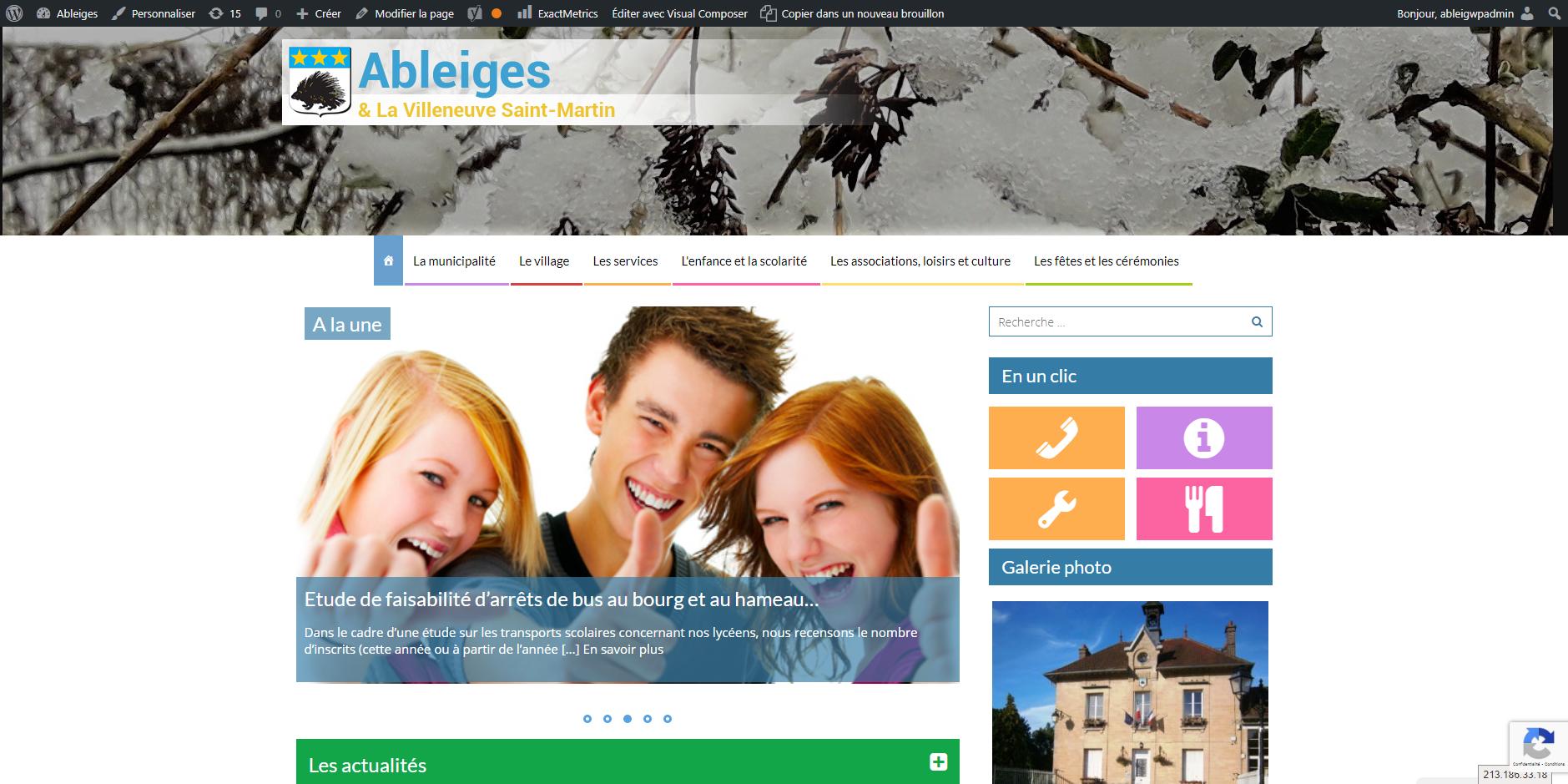 site de Ableiges