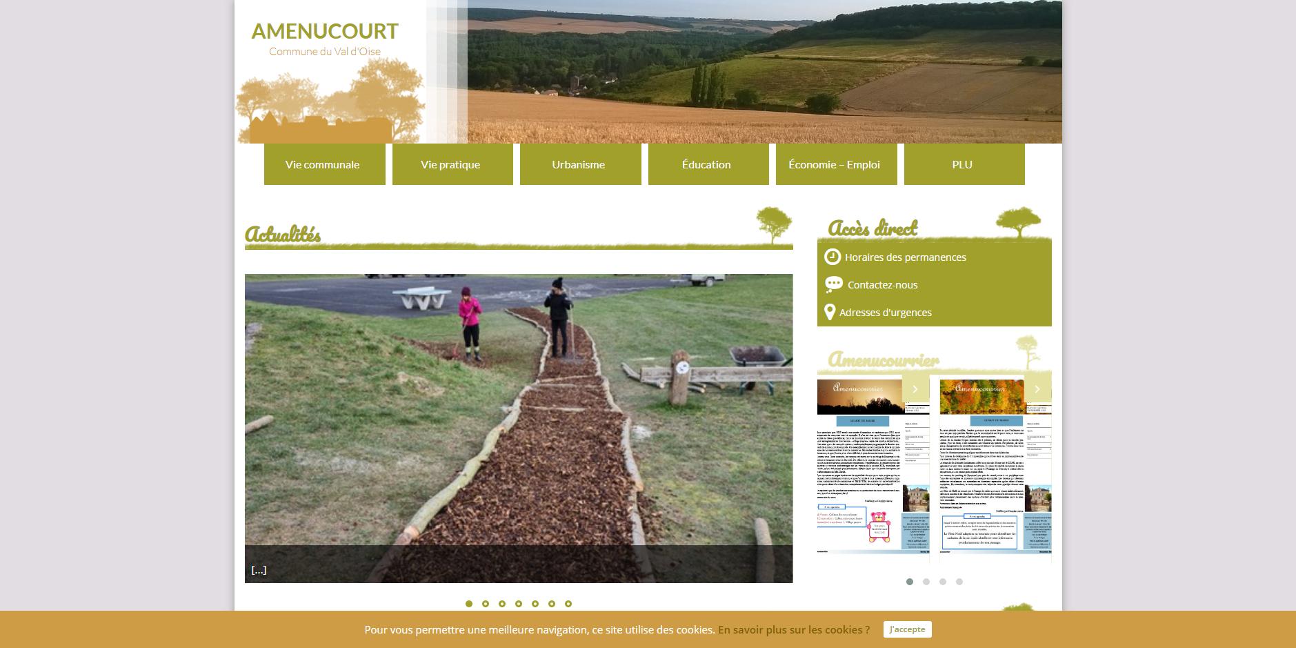 site de Amenucourt