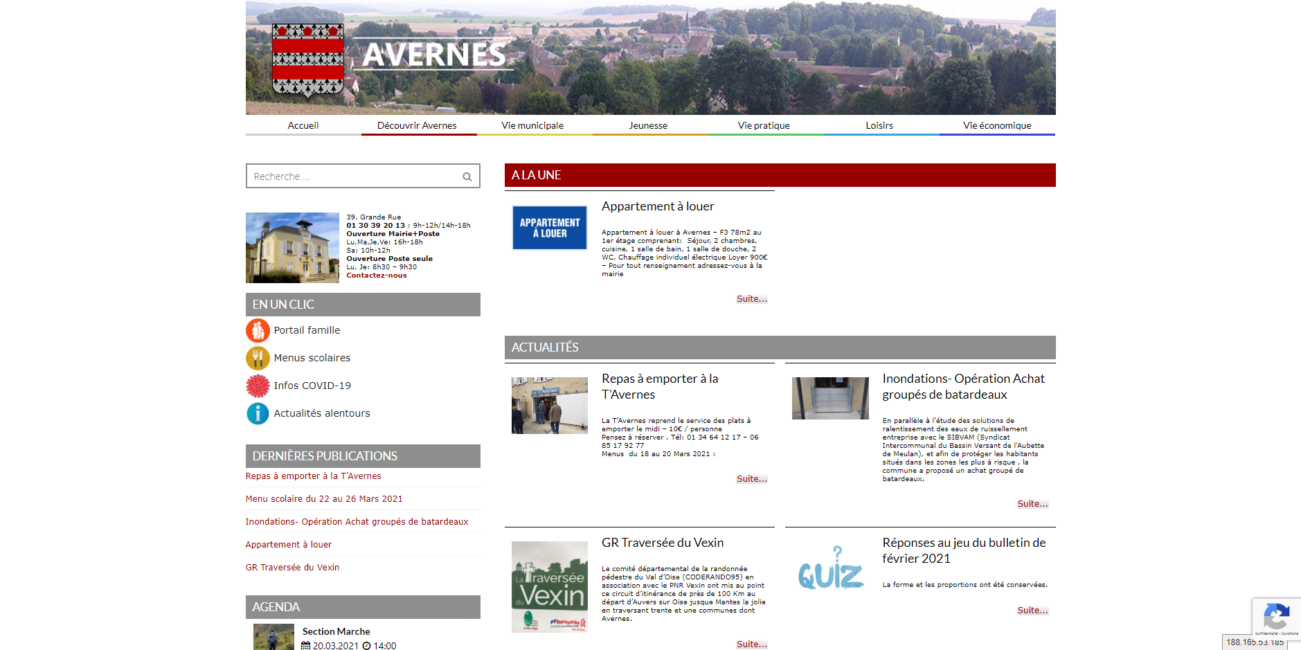 site de Avernes