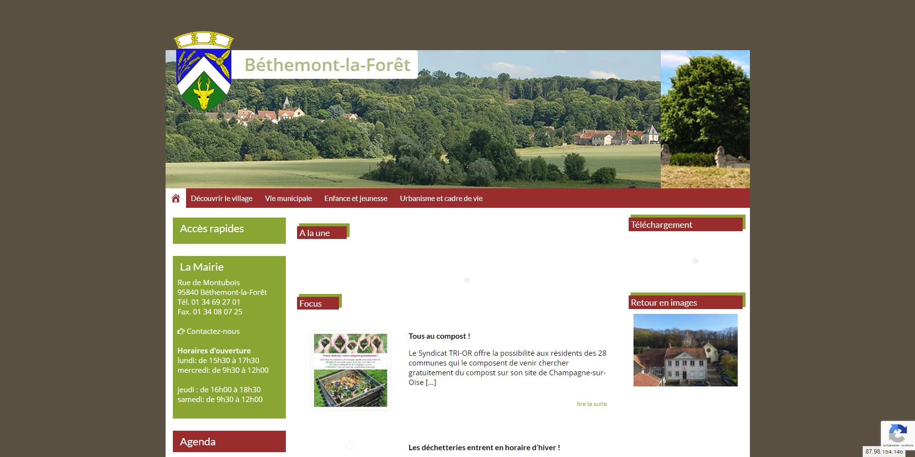site de Bethemont-la-foret