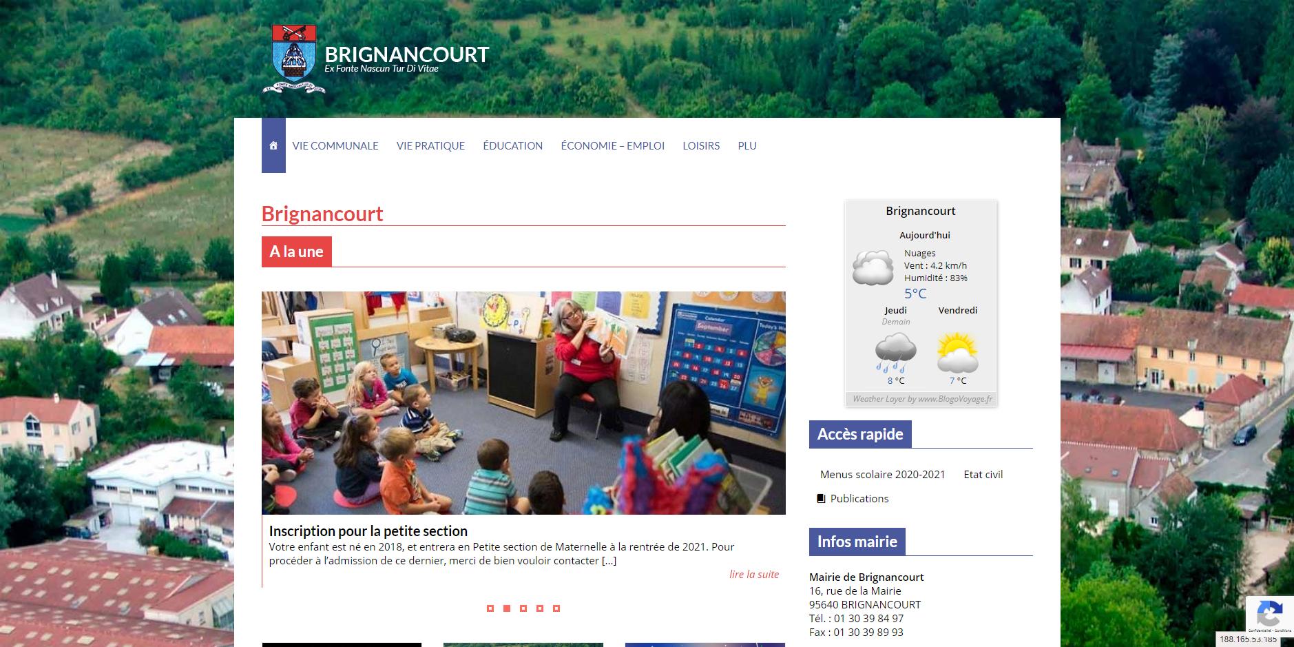site de Brignancourt