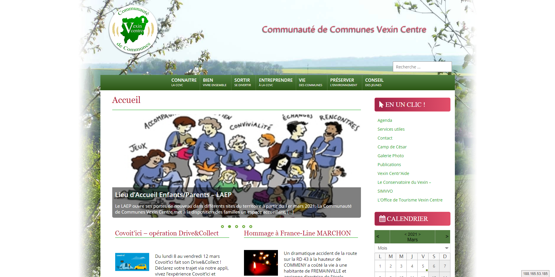site de CC Vexin Centre
