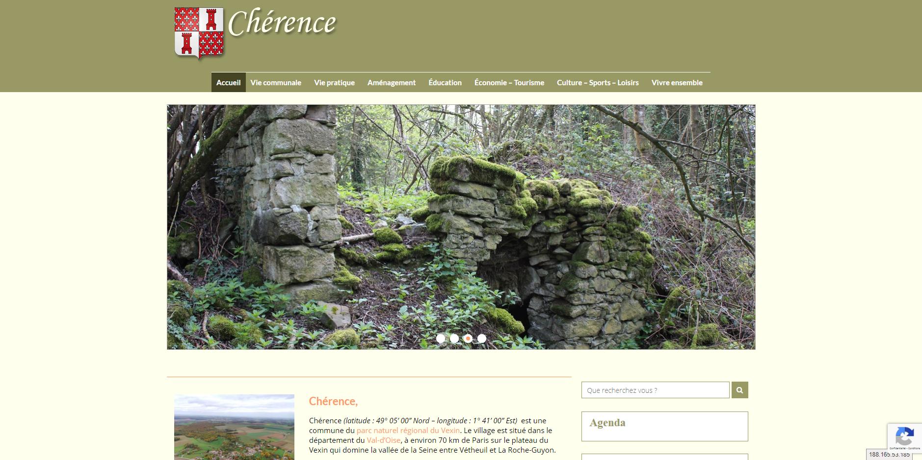 site de Chérence