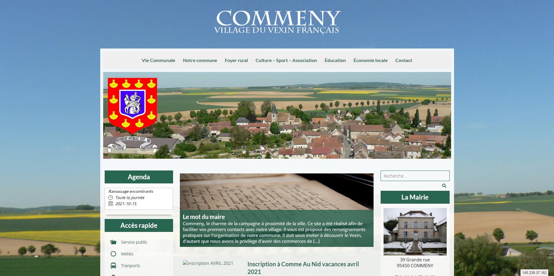 site de Commeny
