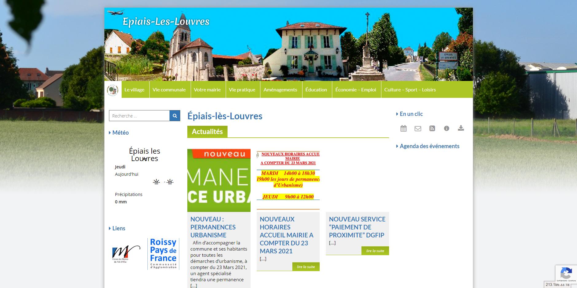 site de Epiais-les-louvres