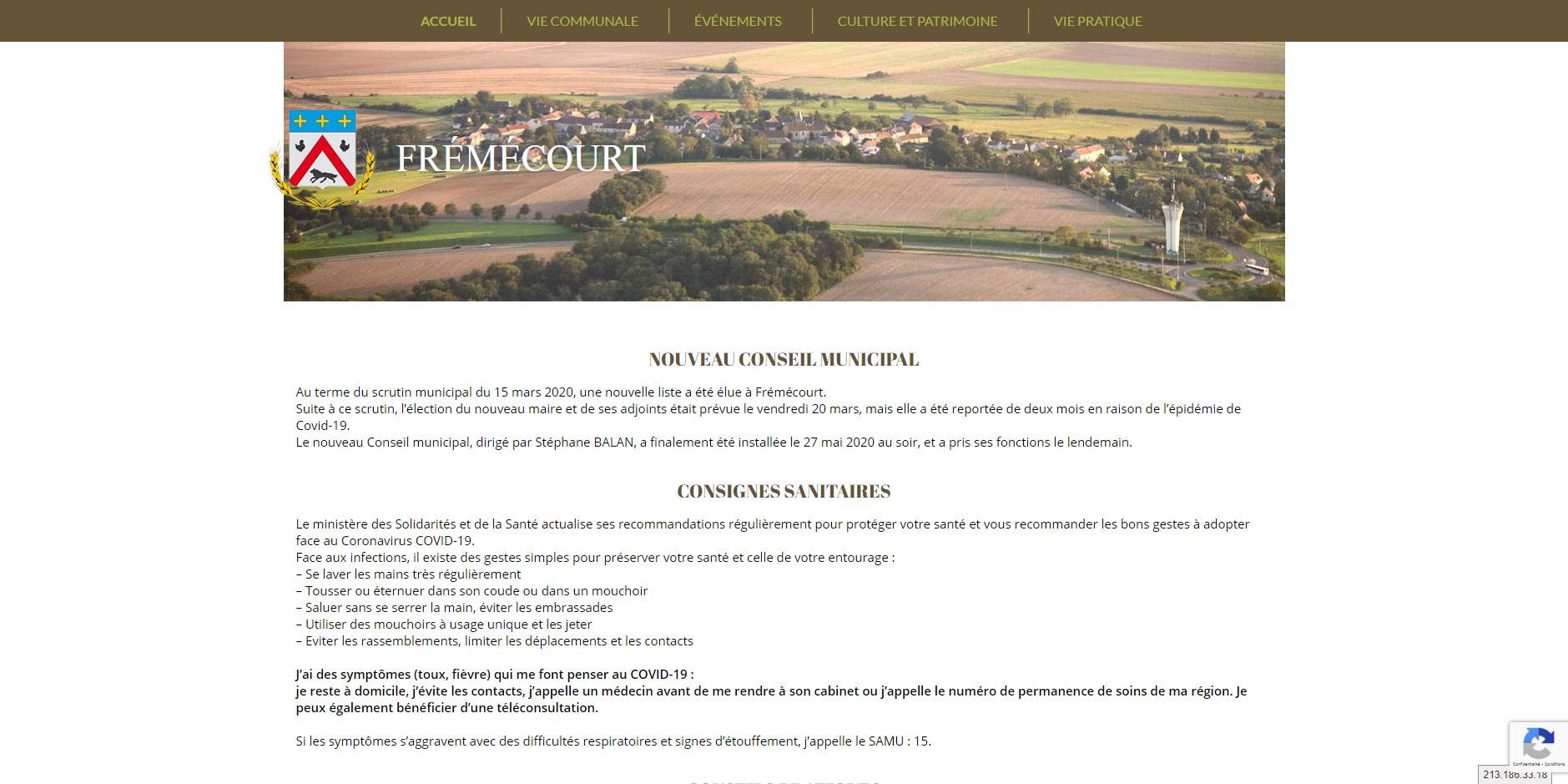 site de Frémecourt