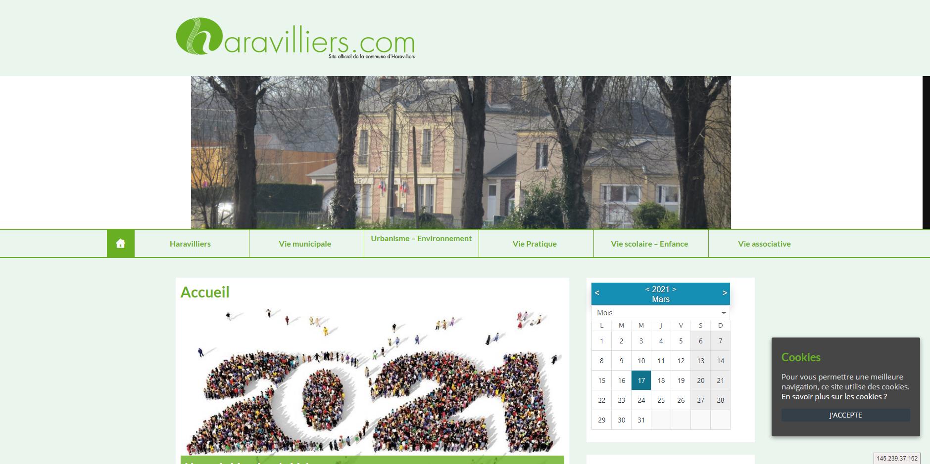 site de Haravilliers