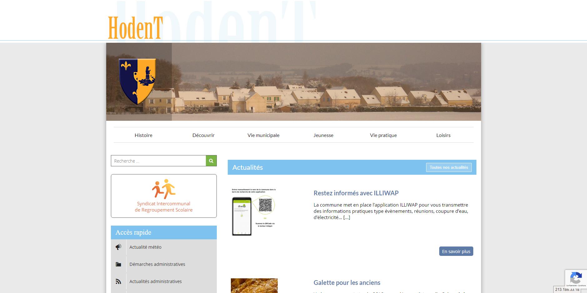 site de Hodent
