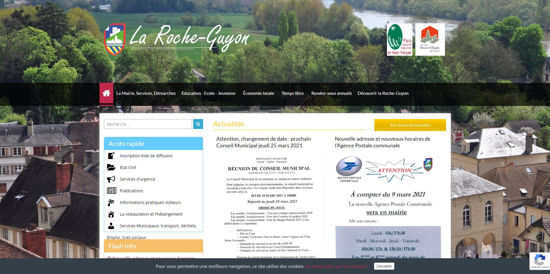 site de La Roche-Guyon