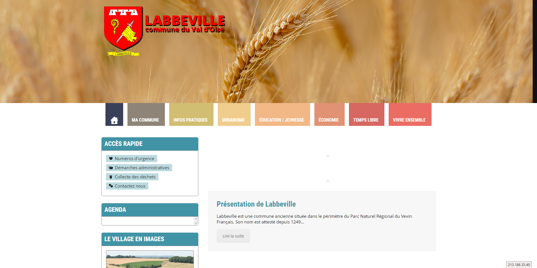 site de Labbeville